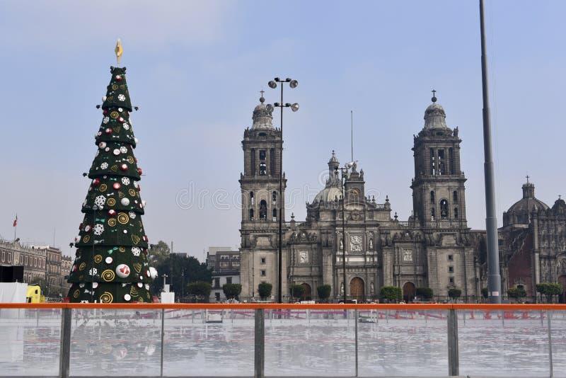 Katedra Meksyk obrazy stock
