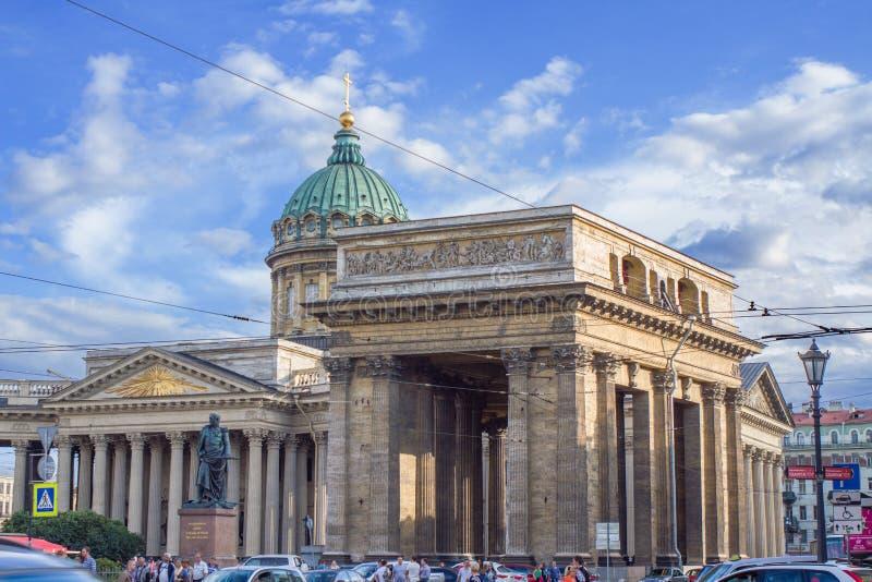 Katedra Nasz dama Kazan, święty Petersburg, Rosja obrazy stock