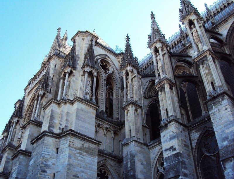 Katedra Nasz dama Reims zdjęcia royalty free