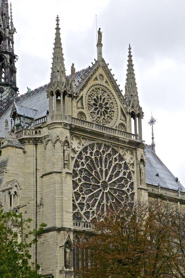 Katedra notre-dame de paris - Catedral de notre-dame de paris frança obrazy royalty free