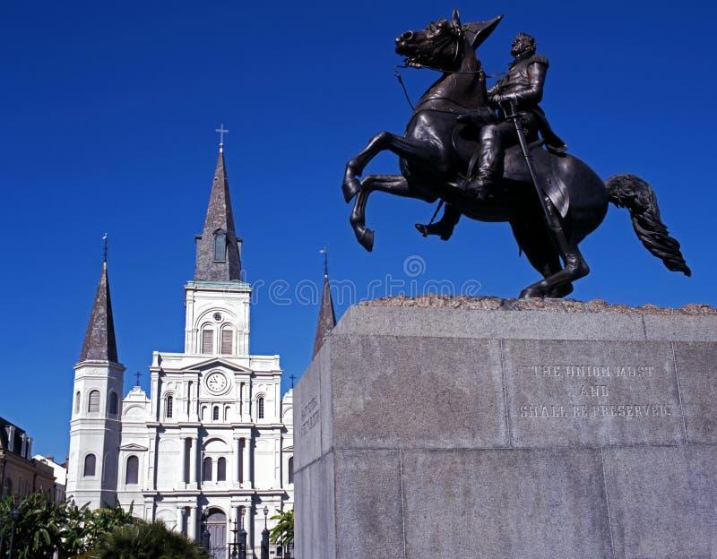 Katedra, Nowy Orlean, USA. obrazy stock
