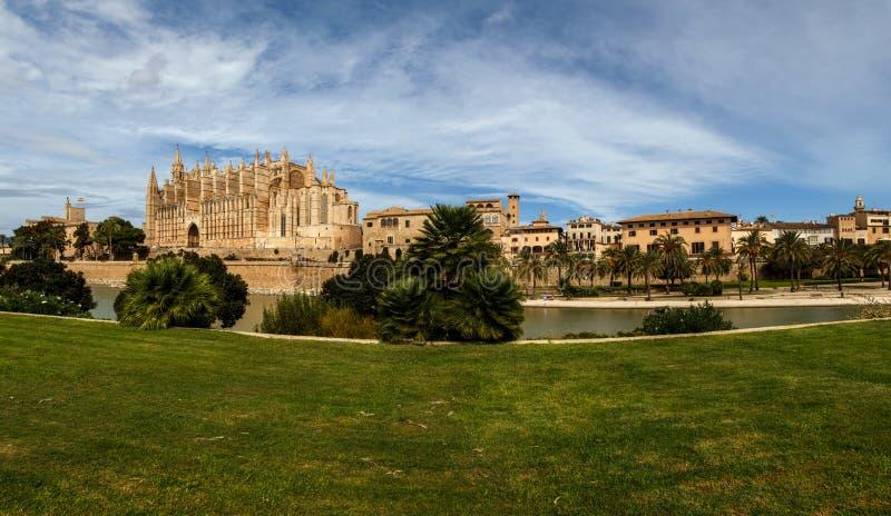 Katedra Palma obraz stock