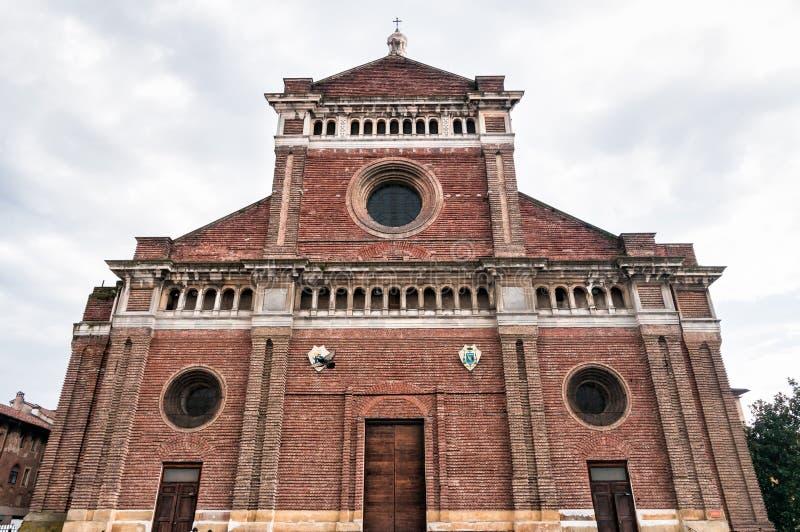 Katedra Pavia, Włochy fotografia royalty free