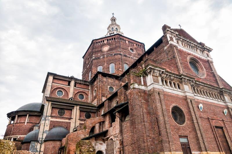 Katedra Pavia, Włochy zdjęcia royalty free