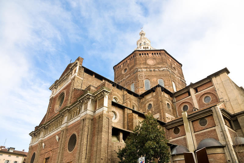 Katedra, Pavia, Włochy zdjęcie royalty free