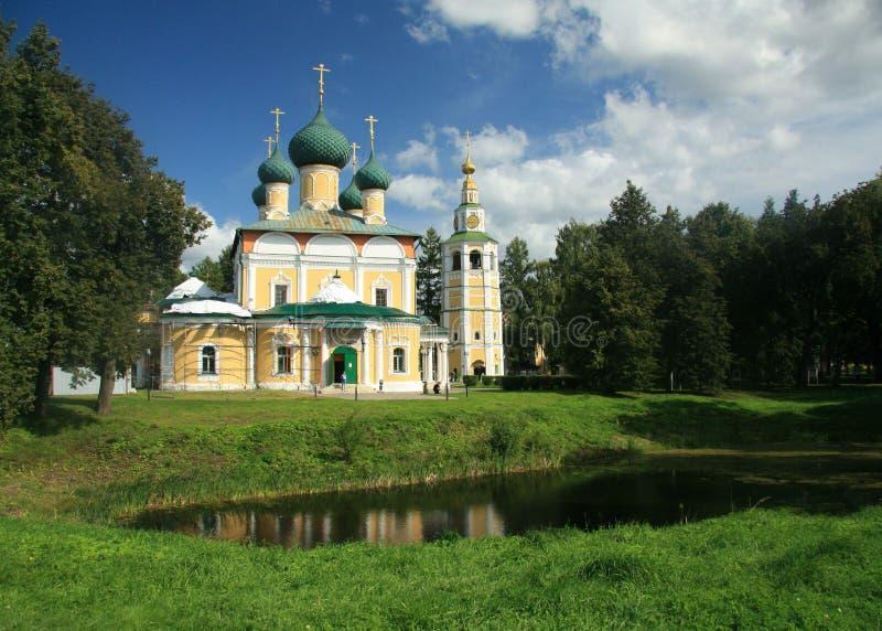 Katedra Przemienienia Pańskiego w Uglich obrazy stock