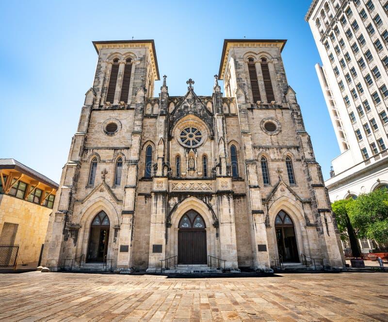 Katedra San Fernando powierzchowność zdjęcie stock