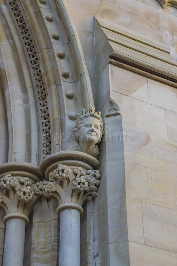 Katedra St Albans obrazy stock