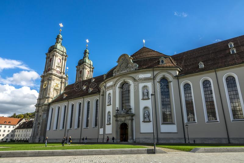 katedra St Gallen obrazy royalty free