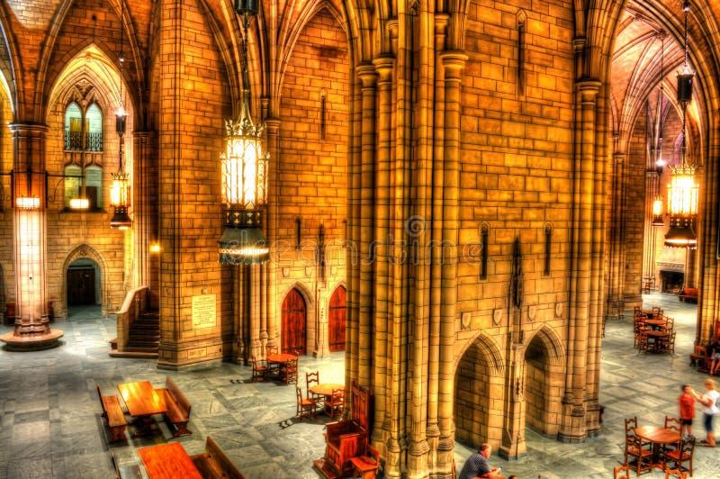 Katedra uczenie kampus - uniwersytet Pittsburgh zdjęcie royalty free