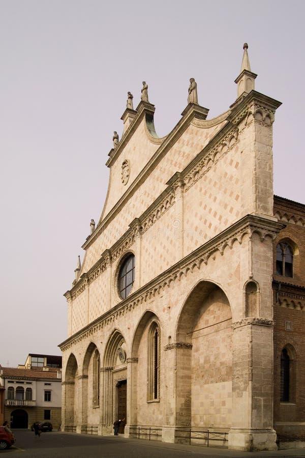 Katedra Vicenza, Veneto, Włochy obrazy stock