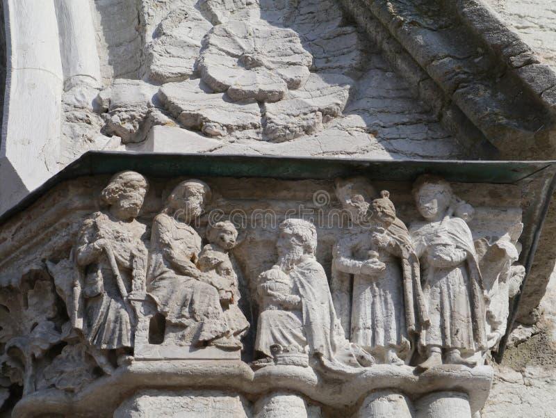 Katedra Visby na Gotland obrazy royalty free