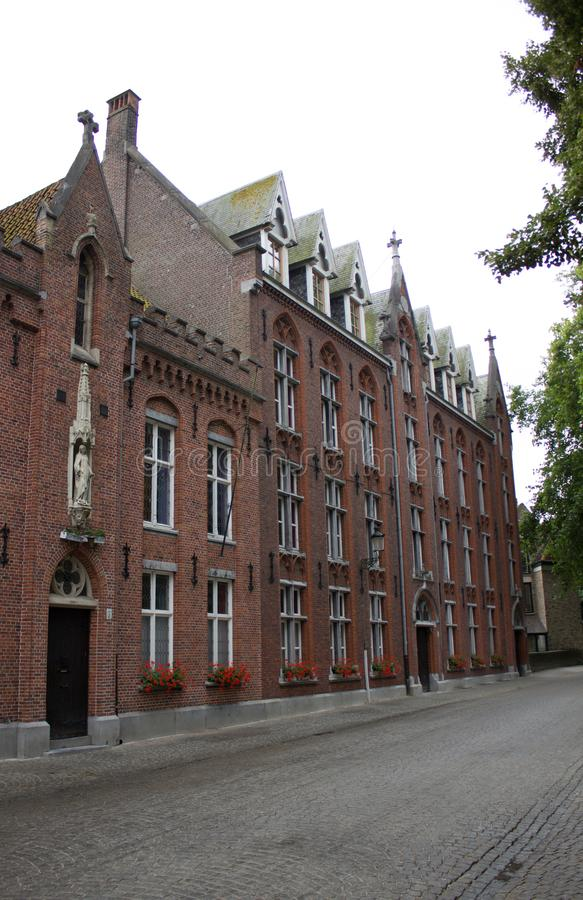 Katedra w Bruges fotografia royalty free