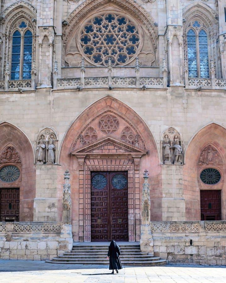 Katedra w Burgos obrazy stock