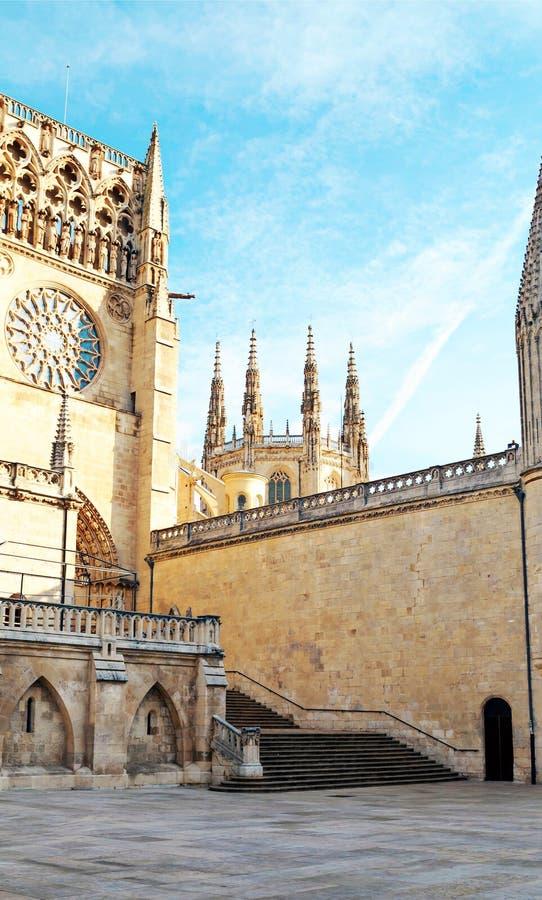 Katedra w Burgos zdjęcia stock