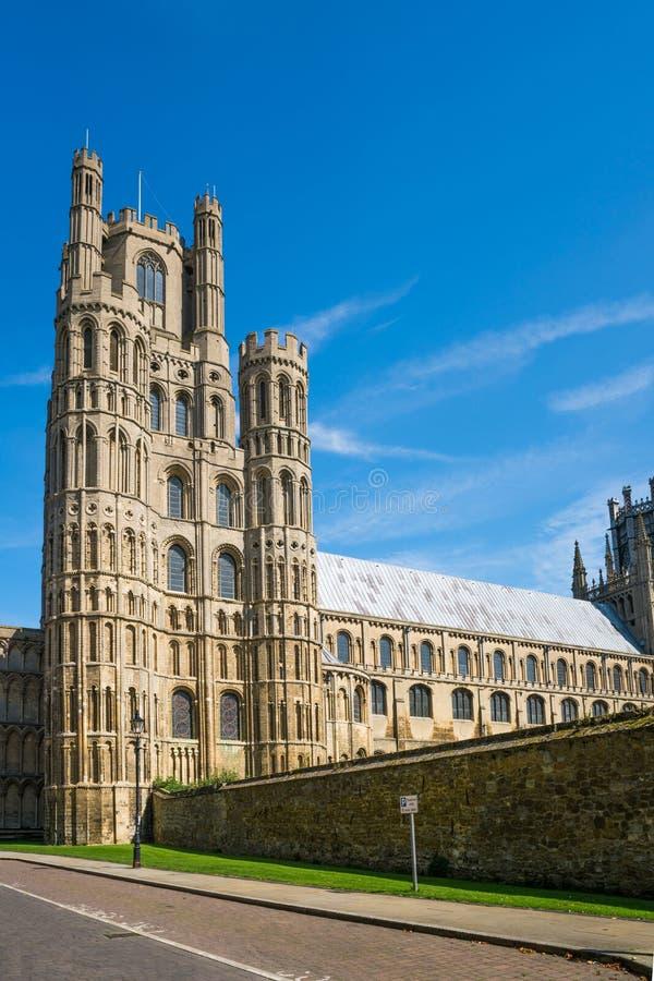 Katedra w Ely, Cambridgeshire, UK obraz stock