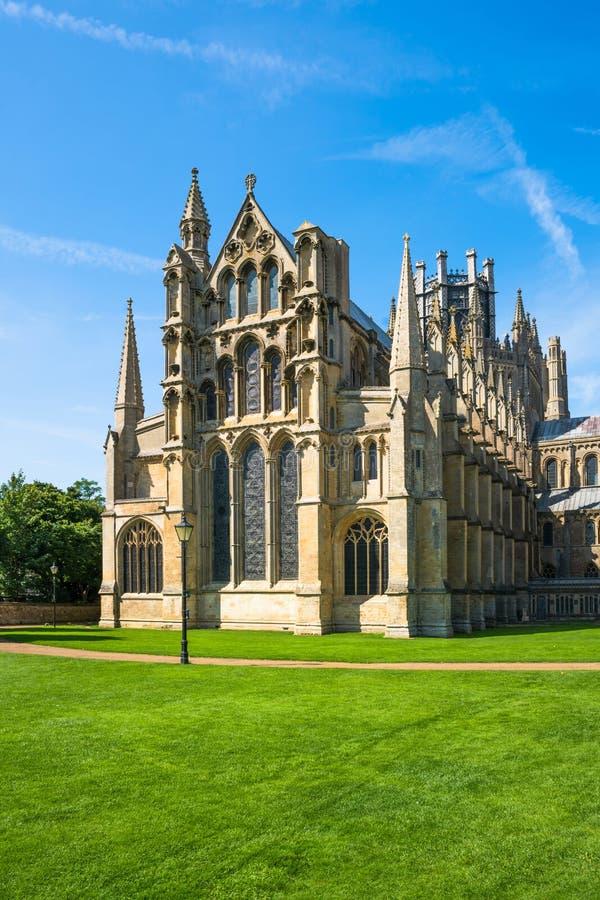 Katedra w Ely, Cambridgeshire, UK fotografia royalty free