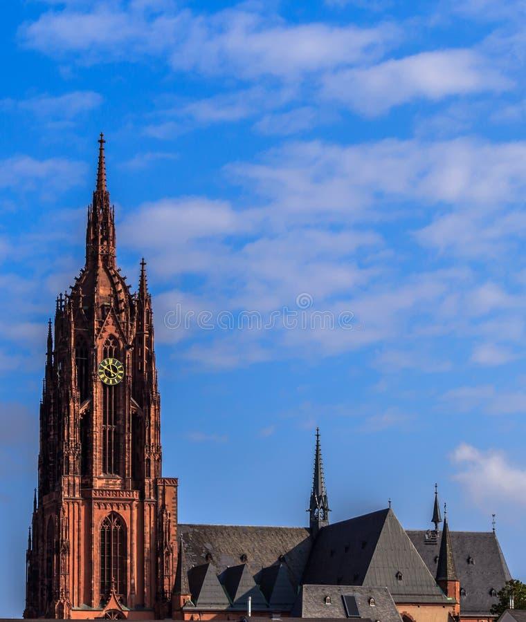 Katedra w Frankfort na magistrali, Niemcy fotografia royalty free