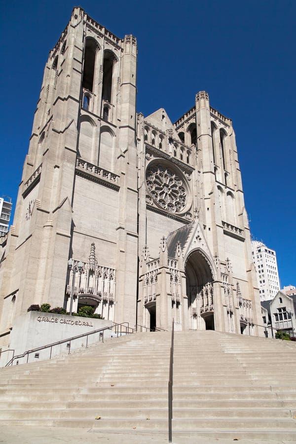 Katedra w Grace zdjęcia royalty free
