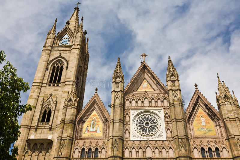 Katedra w Guadalajara Meksyk zdjęcia stock