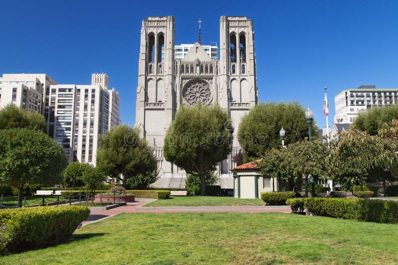 Katedra w Huntington Park i Grace zdjęcie stock