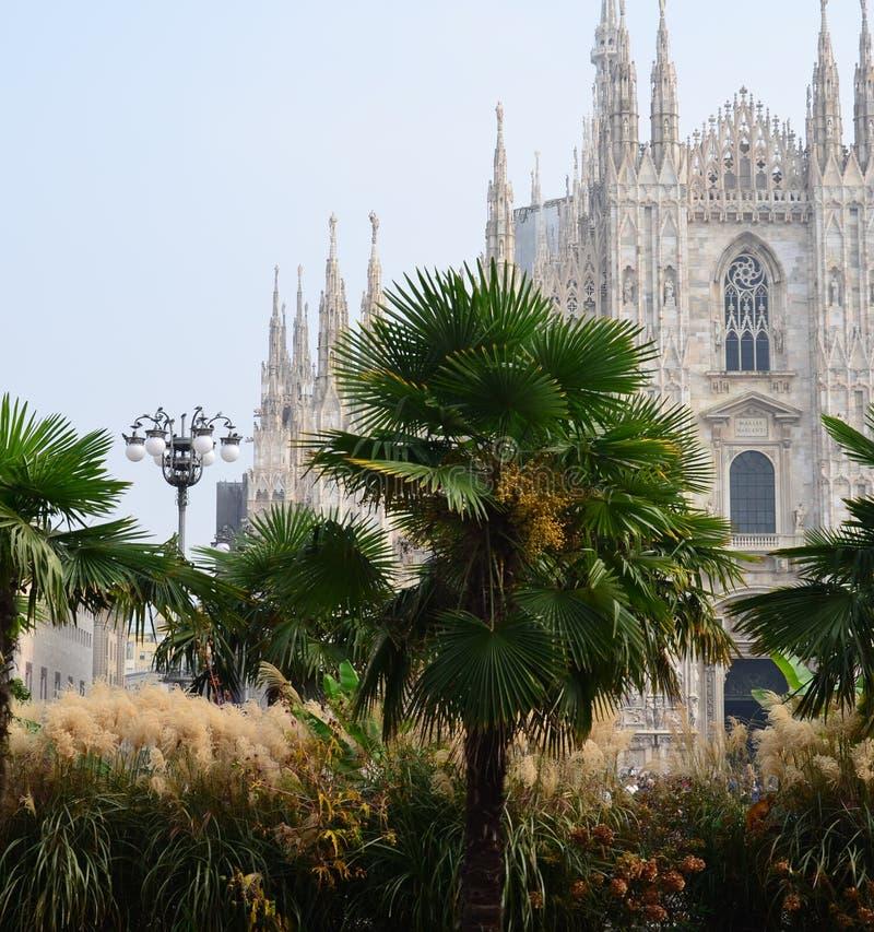 Katedra w Mediolan, Włochy - obraz stock