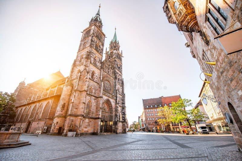 Katedra w Nurnberg, Niemcy fotografia royalty free