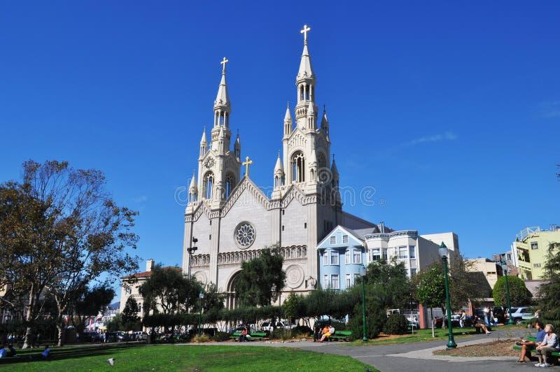 Katedra w San Fransisco fotografia stock