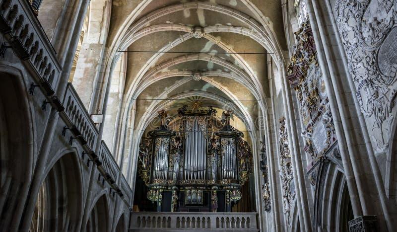 Katedra w Sibiu obrazy stock