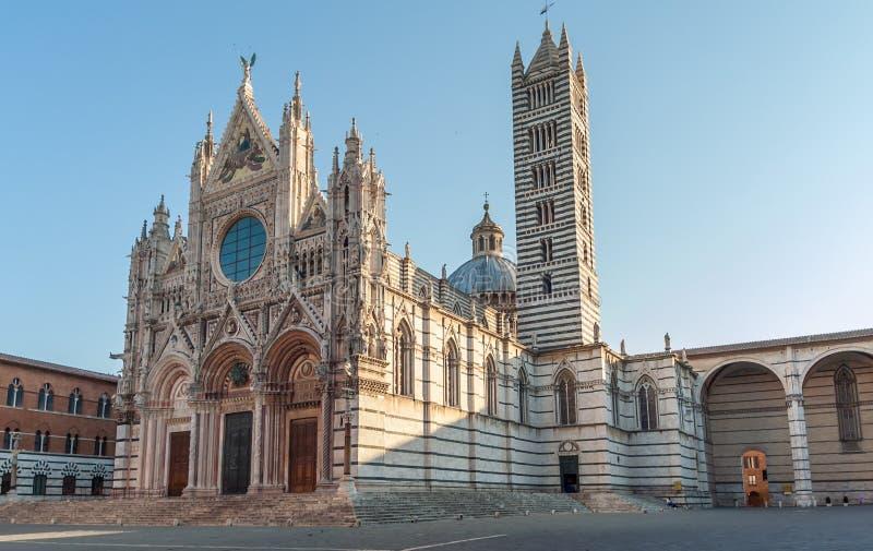 Katedra w Siena obraz royalty free