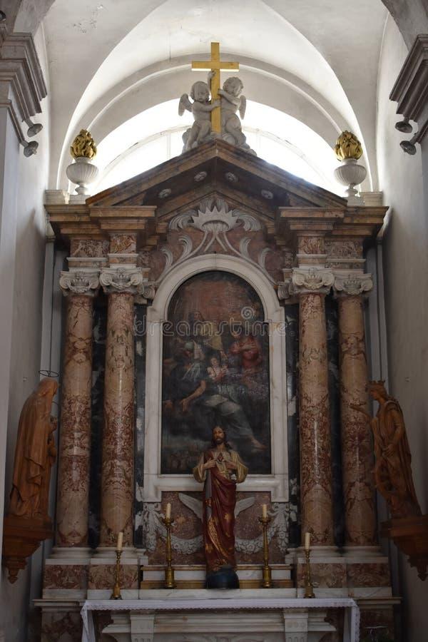 Katedra wniebowzięcie błogosławiony maryja dziewica zdjęcie stock