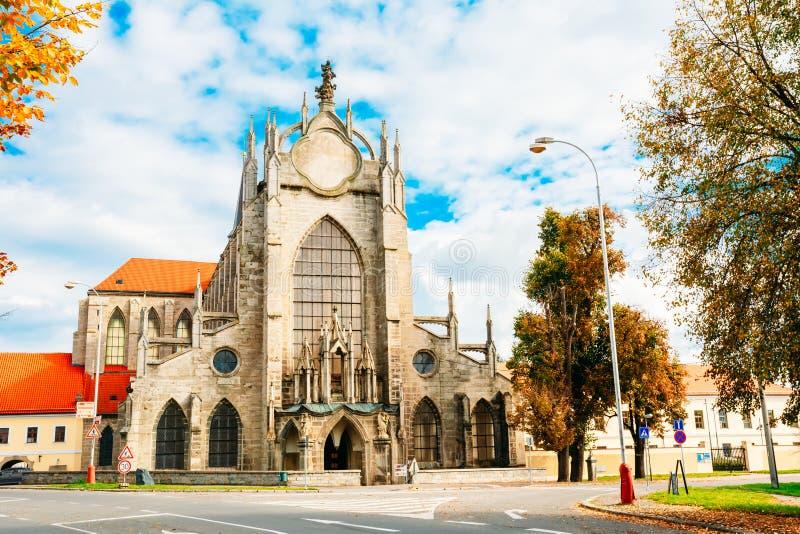 Katedra wniebowzięcie dama I świętego John Nasz baptysta I F obraz royalty free