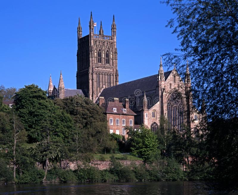 Katedra, Worcester UK. obrazy stock
