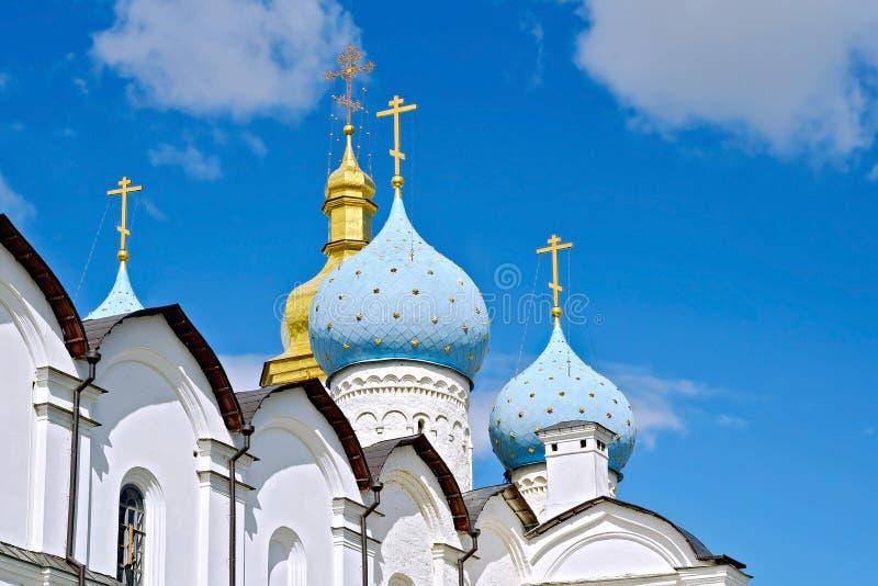 Katedra Wszystkie święty Kazan Kremlin zdjęcia stock
