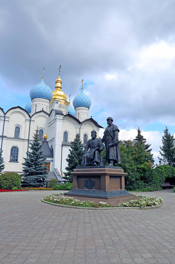 Katedra zabytek architekci i Annunciation obraz stock