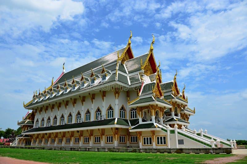 Katedralen i provinsen Wat Khun Inthapramun, Ang Thong. fotografering för bildbyråer