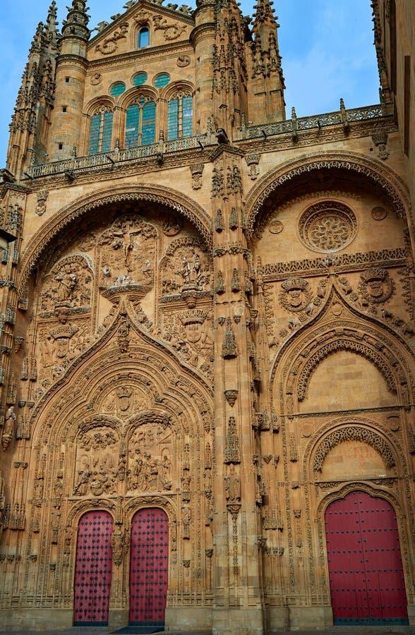 Katedralna bazylika w Salamanca Hiszpania zdjęcie stock