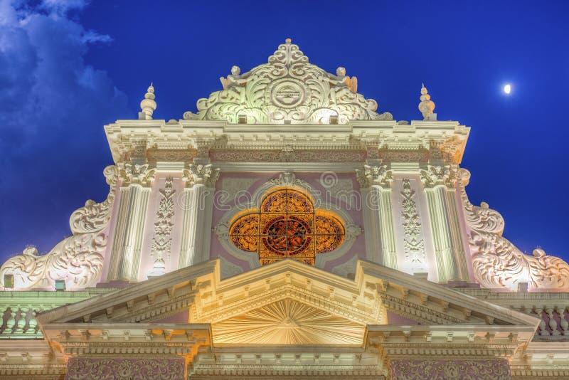 Katedralna bazylika w Salto, Argentyna obrazy royalty free