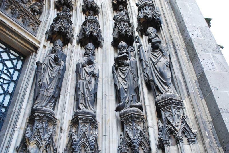 katedralna cologne bramy rzeźba zdjęcie royalty free