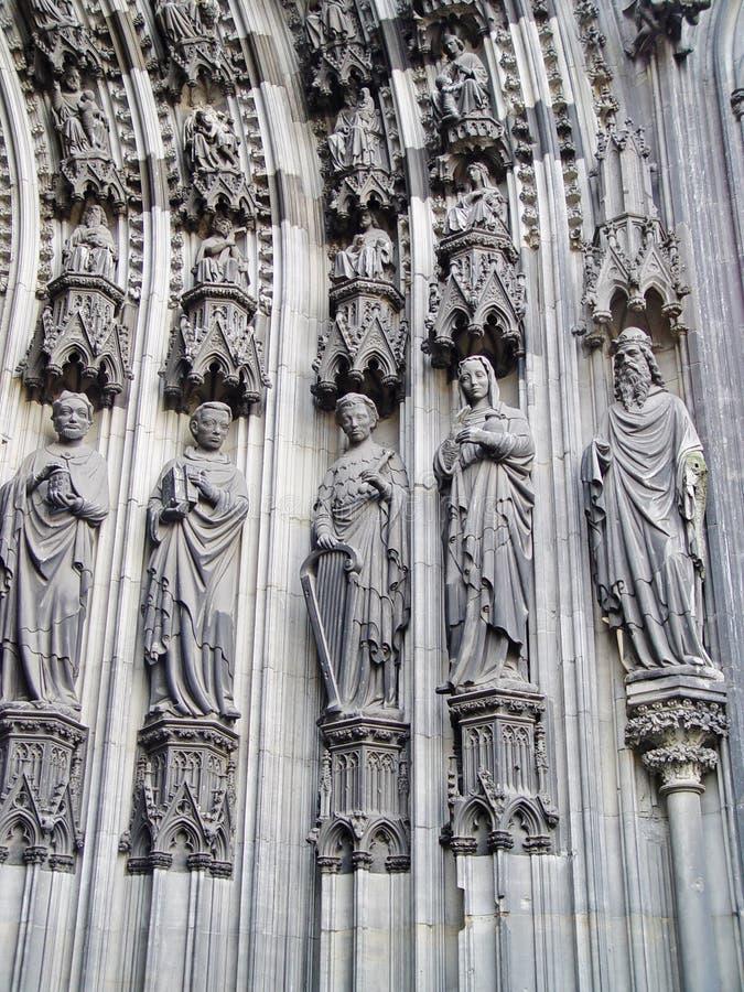 katedralna cologne szczegółu drzwi magistrala obraz royalty free
