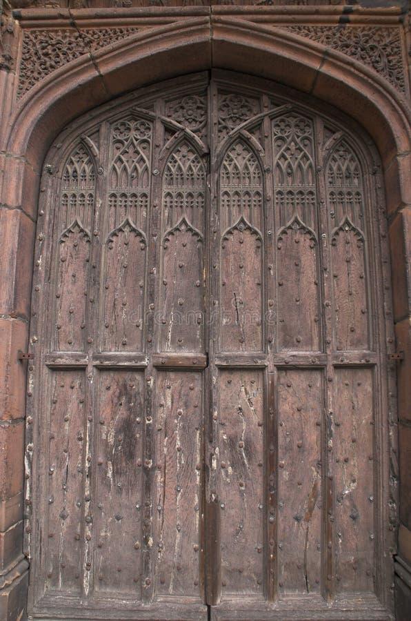 katedralni drzwi obraz stock