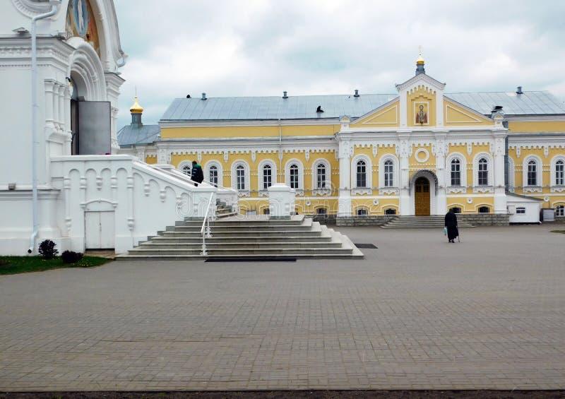 Katedralni ` s budynki na monasteru terytorium zdjęcia stock