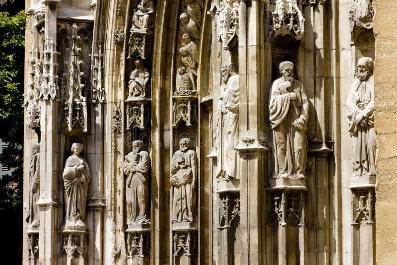 katedralny świątobliwy sauveur obraz royalty free