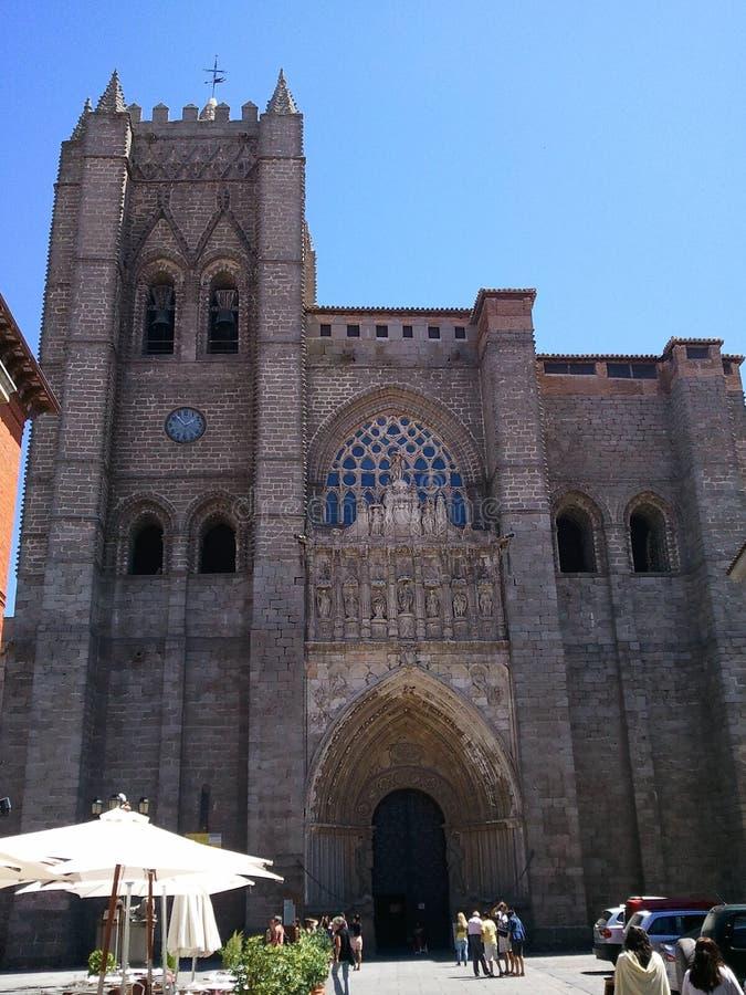 Katedralny Avila zdjęcia royalty free