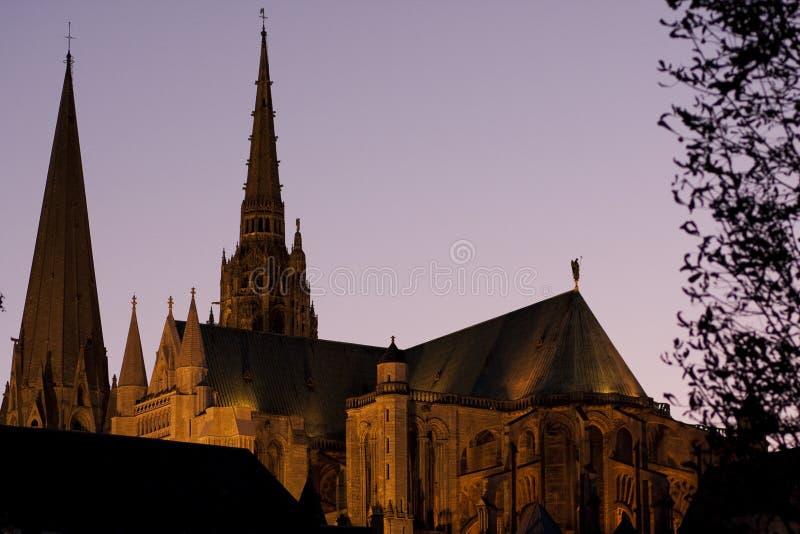 katedralny Chartres zdjęcia royalty free