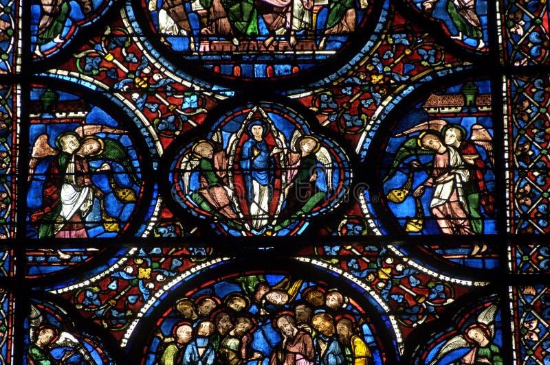 katedralny Chartres zdjęcia stock