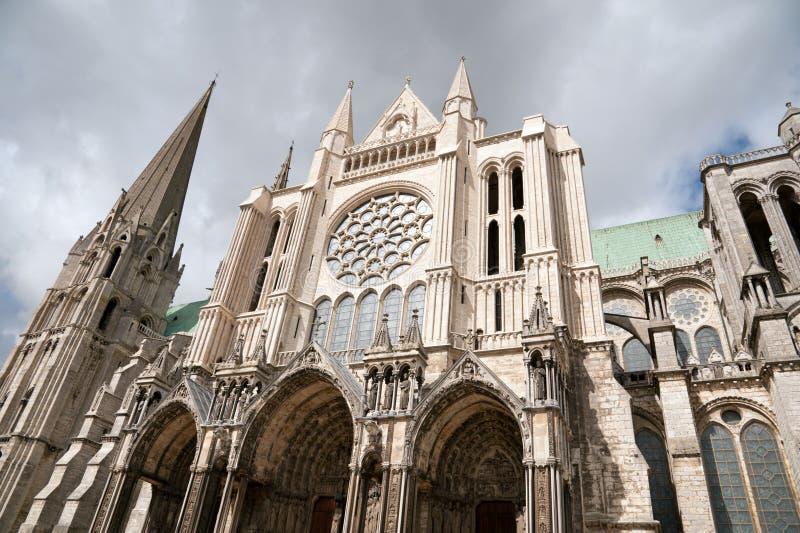 katedralny Chartres fotografia royalty free