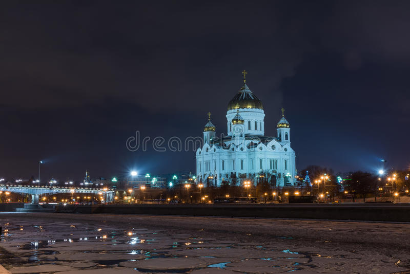 katedralny Christ wybawiciela widok obrazy royalty free