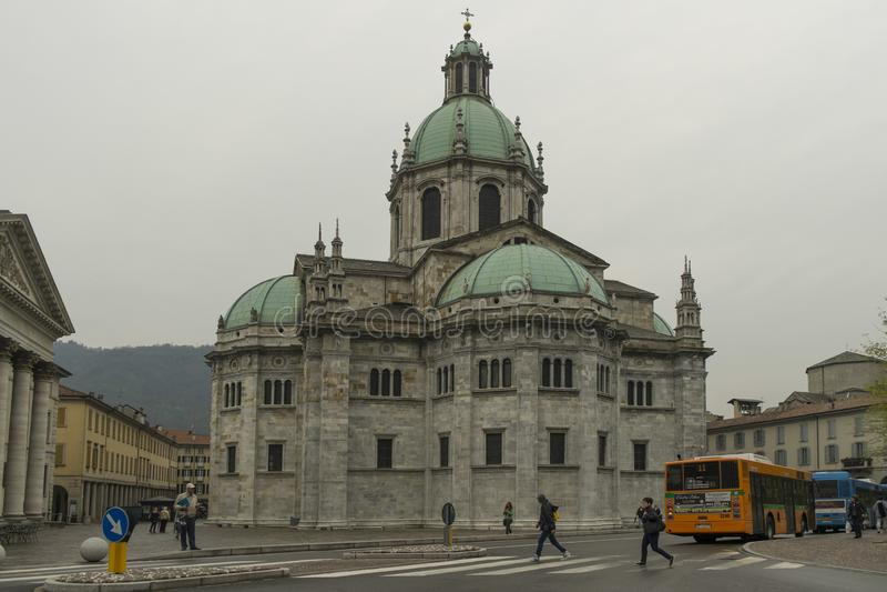 katedralny como Italy zdjęcie royalty free
