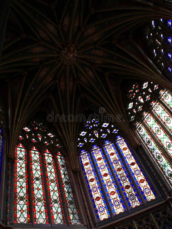 katedralny cupola ely obrazy stock